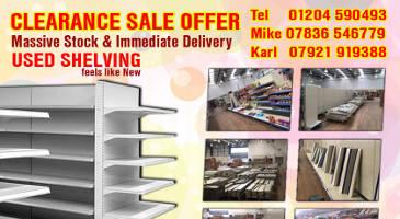 Shop Shelving For Sale