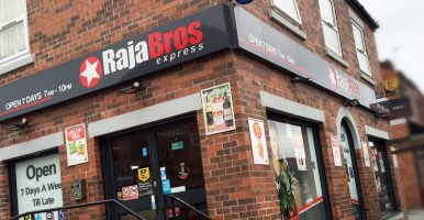 Raja Bros Store Shop Fitting Manchester